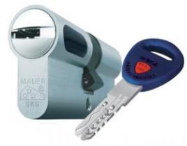 Секретна ключалка NW4/5/6 с палец по DIN
