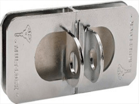 MUL-T-LOCK HASP GLASSDOOR