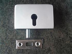 Подова брава за стъклена врата